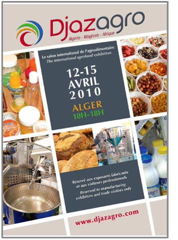 Djazagro 2010 le salon international de l 39 agroalimentaire - Salon international de l agroalimentaire ...